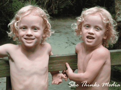 Wordless Wednesday…One of my favorite photos of my twin sons!