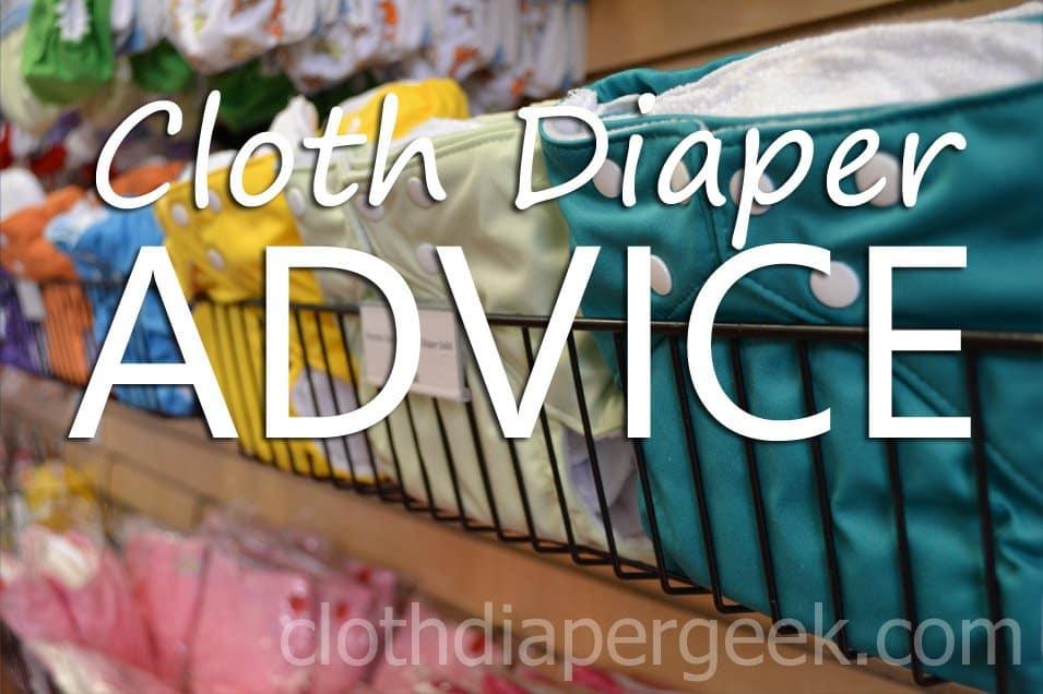 cloth diaper advice