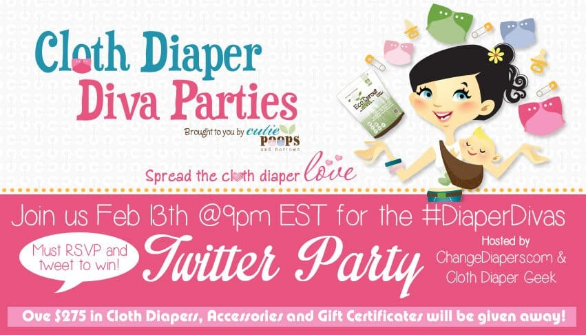 #diaperdivas party, twitter party