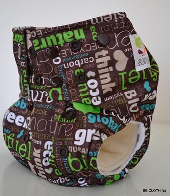 earth day cloth diaper