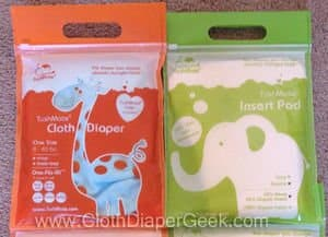 tushmate cloth diaper
