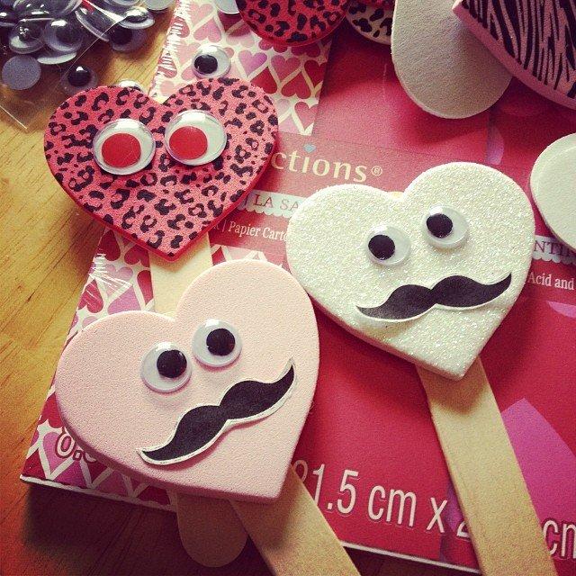 crafting, valentines