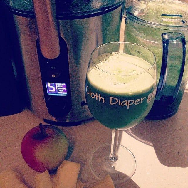 green juice, breville juicer