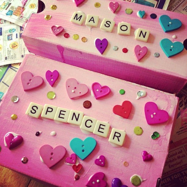 diy valentines mailbox