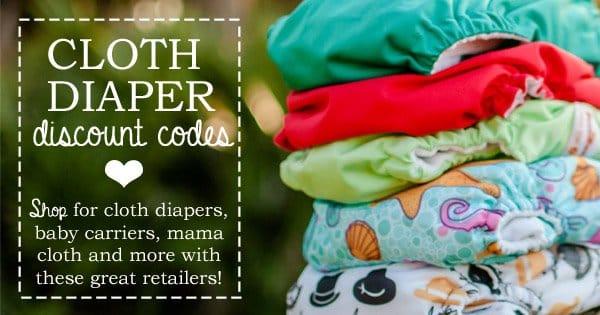 cloth diaper discount codes