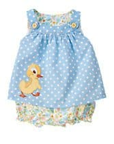 fuzzy duckling dress