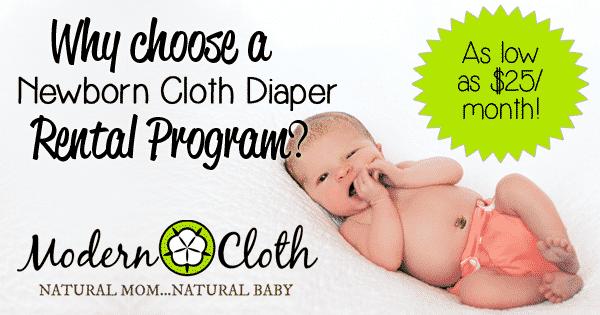 newborn cloth diaper rental