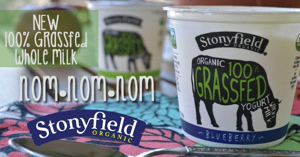 stonyfield organic grassfed yogurt
