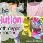cloth diaper wash routine
