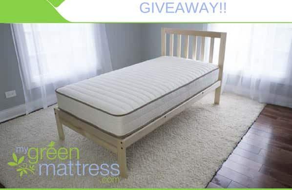 Win a Pure Echo Mattress {$529 Value} from MyGreenMattress.com!