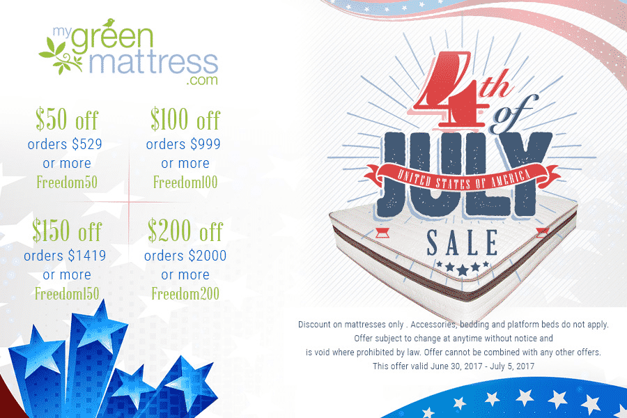 Save up to $200 on Non Toxic Natural Mattresses from