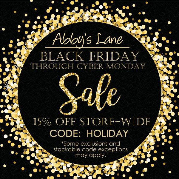 Abby's Lane Store Black Friday