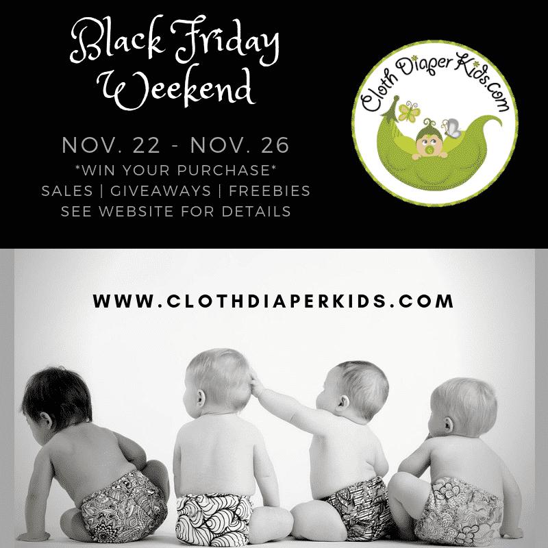 Cloth Diaper Kids Sales